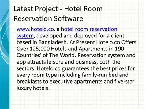 Room Reservation by Hotel Room Reservation System Hotel Room Reservation Software Room