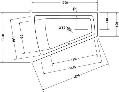 vasche da bagno duravit paiova vasca idromassaggio 760214 duravit