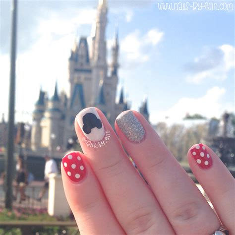 Disney Castle Nail disney nails in front of the castle nail by erin