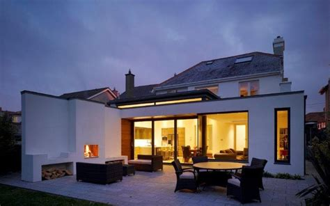 Living Accents Outdoor Fireplace - house extension rathfarnham dublin modern patio dublin by dmvf architects