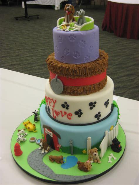 kuchen hund i dogs cake byrdie custom cakes