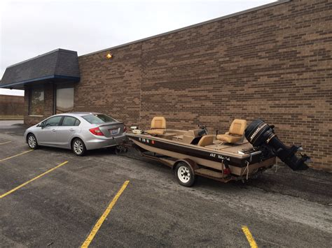 civic towing boat 142 cheetah bass boat ohio game fishing your ohio