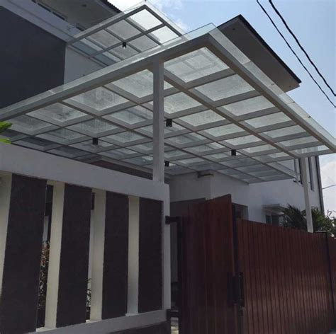 Tempered Glass Untuk Kanopi Kanopi Kaca Tempered Jakarta Upvc Jakarta Murah 0818 9800 95