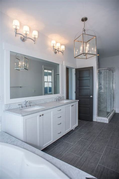 gray floor bathroom 25 best ideas about white vanity bathroom on pinterest
