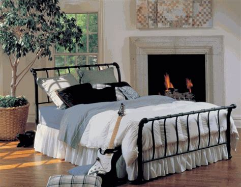 wrought iron sleigh bed hillsdale janis wrought iron sleigh bed 419 00 my