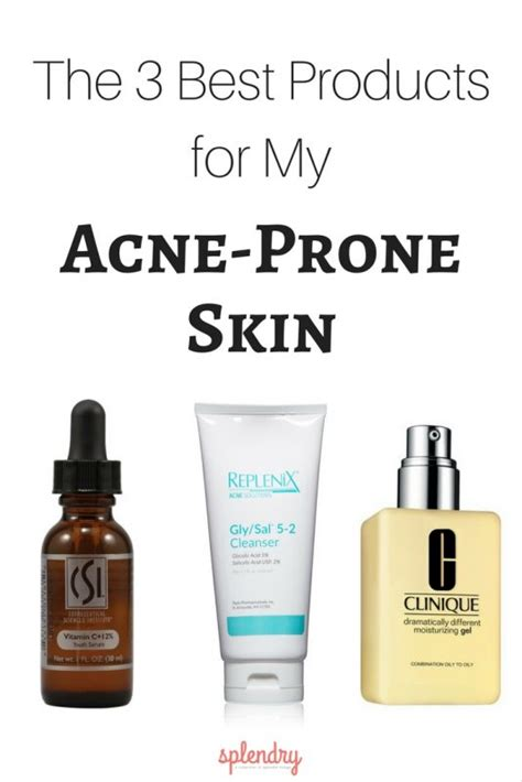 Top 8 Acne Products For by The 3 Best Products For My Acne Prone Skin Splendry