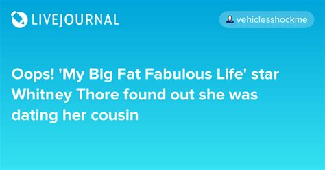 my big fat fabulous life podcast episode list tlc oops my big fat fabulous life star whitney thore found
