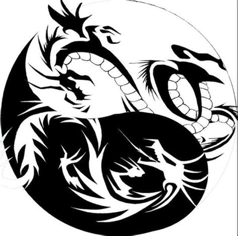 cool black and white tattoos cool black and white yin yang design