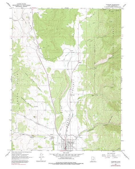 topographical map of utah fairview topographic map ut usgs topo 39111f4