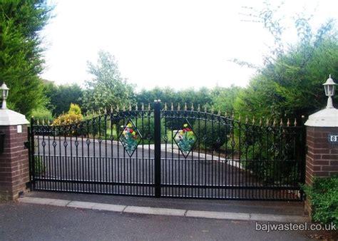 swinging gates for driveways bajwa steel portfolio