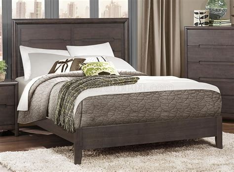 Weathered Bedroom Set by Lavina Bedroom Set 1806 By Homelegance In Weathered Grey