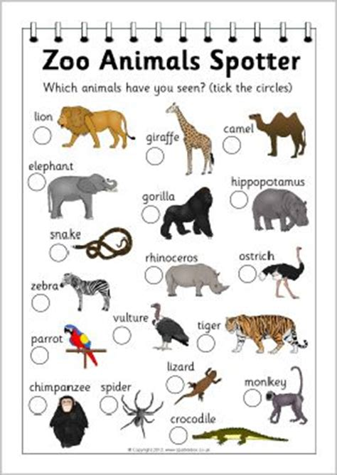 printable zoo animals for preschoolers 10 best ideas about zoo animals on pinterest preschool