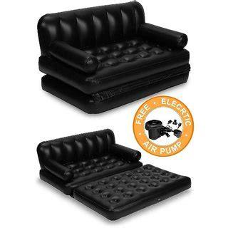 buy air sofa online bestway black 5 in 1 sofa inflatable air bed buy bestway
