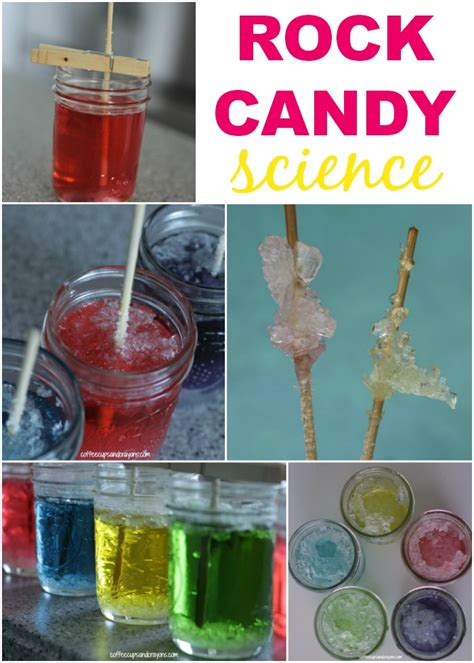 rock candy science experiment coffee cups and crayons