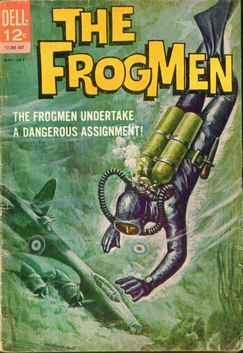 my underwater book one books the frogmen 5 dell comics western publishing