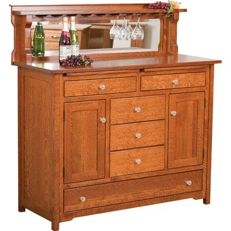 buffet with drawers bonzer wine buffet with three center drawers amish