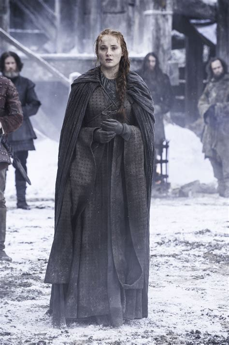 redhead actress game of thrones season 6 game of thrones did maisie williams just confirm sansa