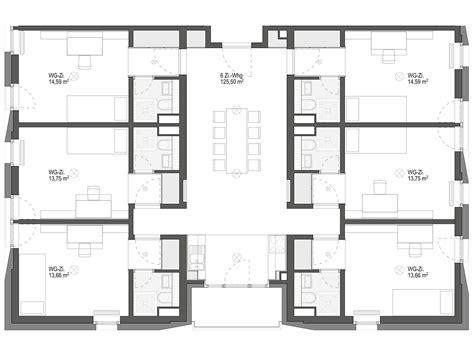 haus 6 zimmer 6 zimmer wohngemeinschaft 169 169 geier 183 maass architekten