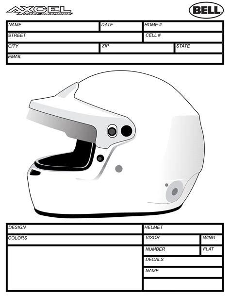 bell helmet design template helmet templates axcel fast graphics custom helmet