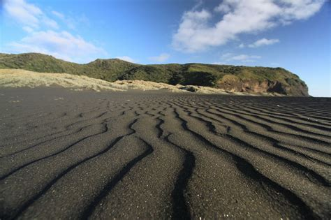 black sand spectacular sand beaches in a rainbow of 10 incredible