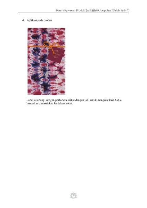 desain kemasan produk batik desain kemasan produk batik jumputan quot galuh kadiri quot