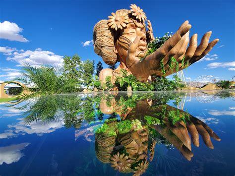 anima  wooden sculpture  daniel popper  las vegas