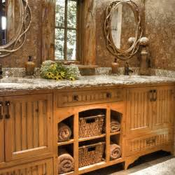 country rustic bathroom ideas rustic bathroom d 233 cor ideas for a country style interior kvriver
