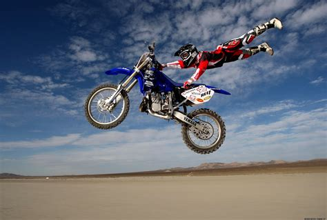 dirt bike motocross motocross flying rider hd wallpaper widescreen wallpaper