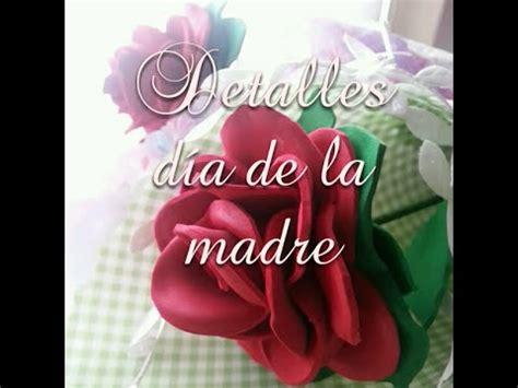 distintivos para el dia de la madre manualidades para el d 237 a de la madre flores de goma eva