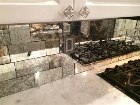 mirrored subway tiles antique mirror 183 more info