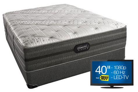 beautyrest 174 black 174 hope plush mattress