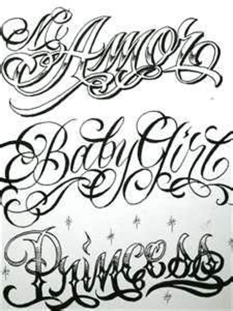 tattoo fonts urban i like this style of lettering been practicing different