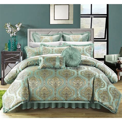 what is the best material for comforters chic home giovani jacquard motif fabric 9 piece comforter
