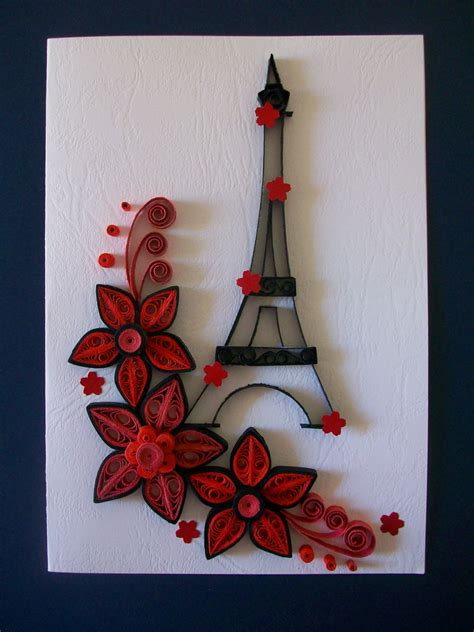 Handmade Quilling Cards - quilling card handmade quilling greeting card birthday