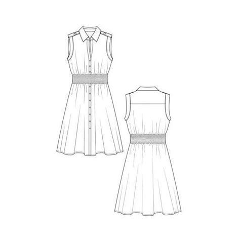 dresses fashion design sketches flat fashion sketch
