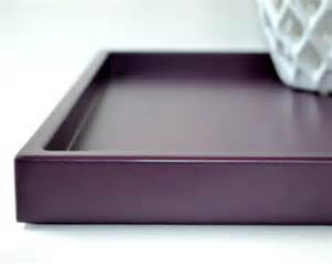 Coffee Table Serving Tray Ready To Ship White Lacquer Serving Tray 16 X 16 Satin