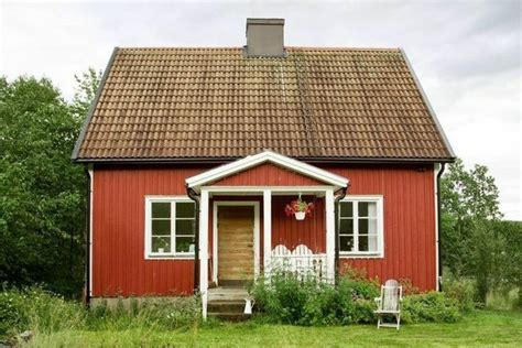 home in sweden is bright charming and of wildlife