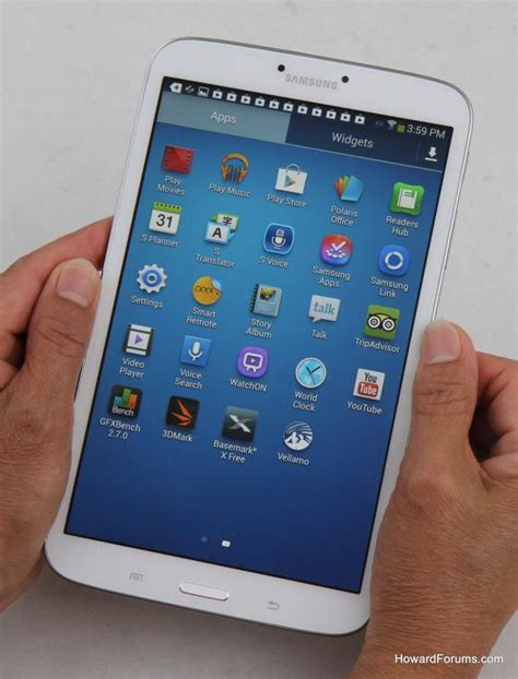 Mini Samsung Galaxy Tab howardforums your mobile phone community resource just right our samsung galaxy tab 3 8