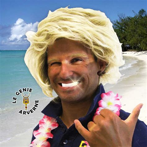 perruque surfeur