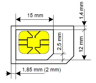 T Mobile Sim Card Cut Template by Cutting A Sim Card Detailing World