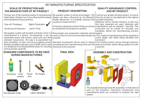 process specification template the manufacturing specification