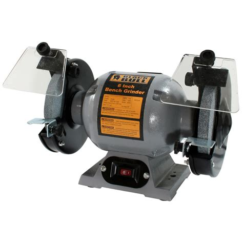 black bull bench grinder black bull 6 quot heavy duty bench grinder 188482 power tools at sportsman s guide