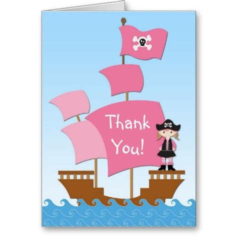 pirate thank you card template 1000 images about pirate photo thank you cards on