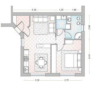 progetto appartamento 50 mq casa 40 50 60 mq idee arredo