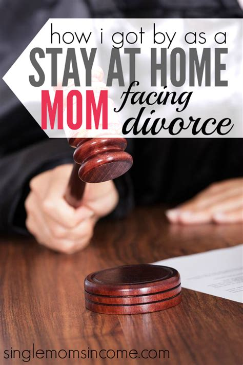 how i got by as a semi stay at home facing divorce