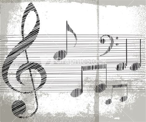 Sketches A Song by Royalty Free Note Vector Image Graphicstock