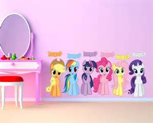my little pony wall mural pics photos wall stickers decals mlp3 my little pony