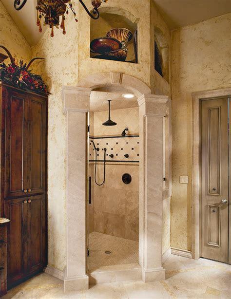tuscan bathroom love the stone sink old world mediterranean italian spanish tuscan homes tuscan old world stone master shower traditional