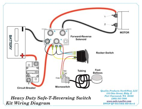 reversing switch wiring diagram polarity reversing switch