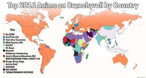 crunchyroll feature crunchyroll s most popular anime of